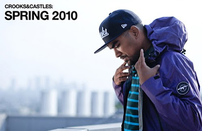 >Lookbook Crooks & Castles printemps 2010 – Hommes