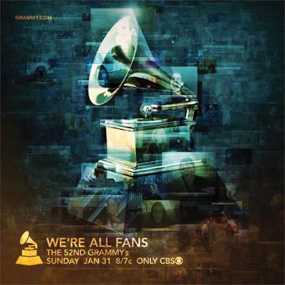 52ème cérémonie des Grammy Awards