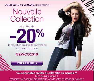 >20% sur la nouvelle collection Mim