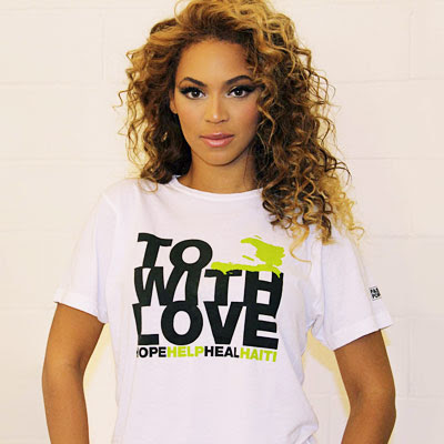 Beyonce : Fashion for Haïti