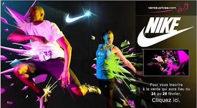 >Bon Plan: Ventre-Privée Nike