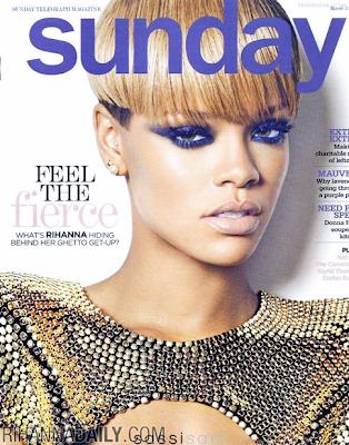 >Rihanna en couv' de Sunday Magazine