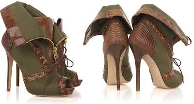 Beyonce en Hot Boots Alexander McQueen