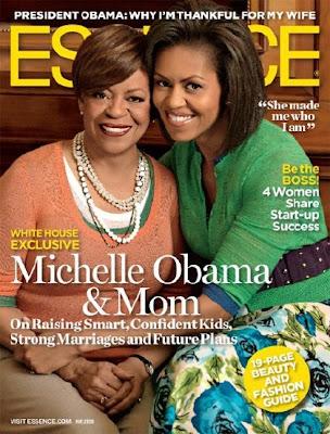Michelle Obama et sa mère en couv' d'Essence Magazine