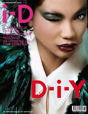 Chanel Iman en couv' de D-i-Y