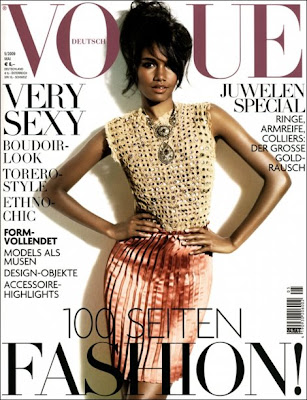 Arlenis Sosa Pena en couv de Vogue Germany