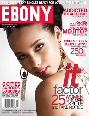 4 Couvertures Exclusives: Ebony Magazine