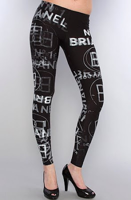 Brianel Graffiti Leggings – Keri Hilson