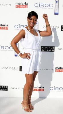 tamala+jones Diddy & Ashton Kutcher's All White Affair