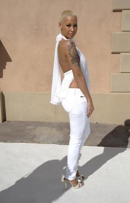 amber3 Diddy & Ashton Kutcher's All White Affair