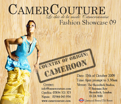 Camer Couture Fashion Show 2009 – Londres