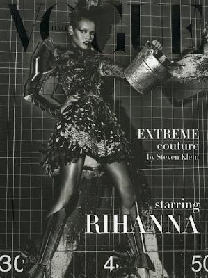 Rihanna-Steven-Klein-Vogue-Italia Rihanna pour Vogue Italie