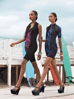 7b9a5dc4 Chanel Iman & Jourdan Dunn pour Teen Vogue