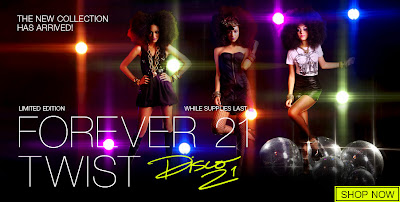 """Nouvelle collection Forever 21 Twist:  """"Disco 21"""""""