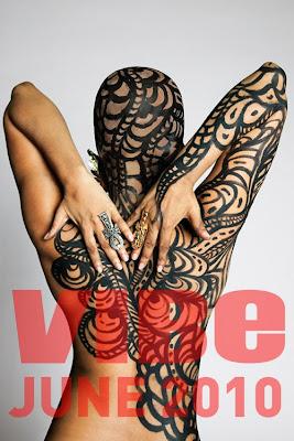 >Erykah Badu en Couv' de Jet et Vibe Magazine