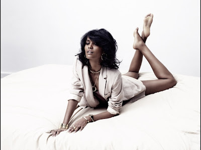 Liya Kebede pour l'Express Style