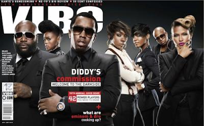 >Diddy, Rick Ross & Janelle Monae ont la Vibe