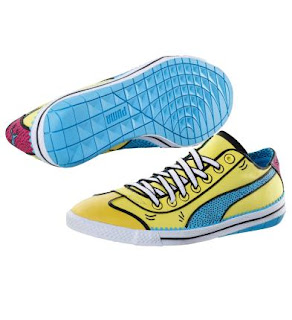 Chaussure+lifestyle+917+Lo Vive le Puma Pop Art