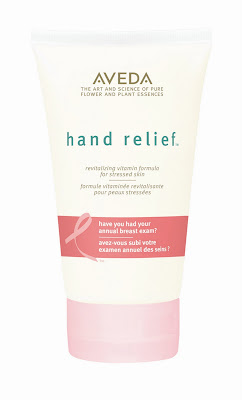 La crème mains AVEDA contre le Cancer du Sein