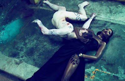 Hot Shoot | Naomi Campbell en couv' d'Interview Magazine