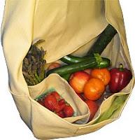farmers market bag in natural