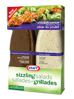 Kraft Sizzling Salad Kit