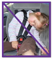 slumping child
