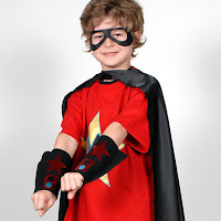 PowerCapes complete superhero outfit