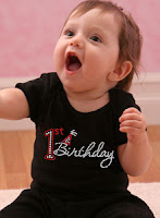 Just Jen 1st Birthday shirt