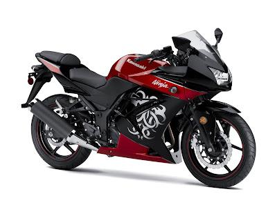 Kawasaki Ninja 250 Merah Modifikasi Ninja baru thailand