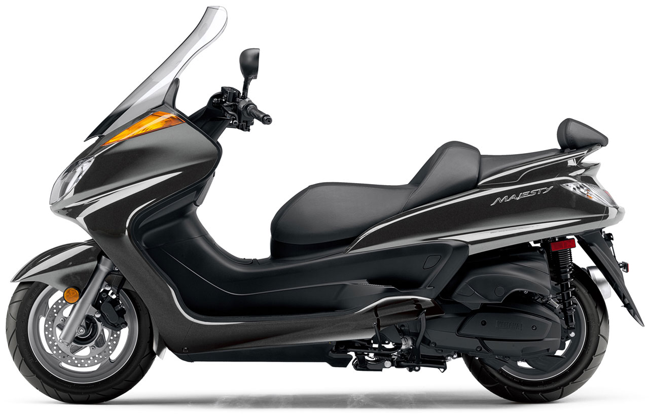 Top Motorcycle Review  2010 Yamaha Majesty black