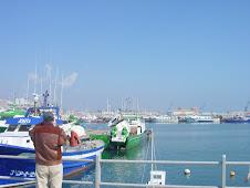 Fotografiando las barcas