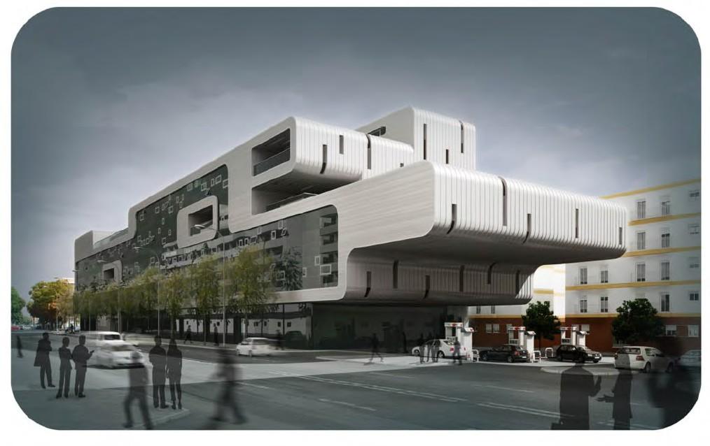 Sevilla arquitectura edificio de oficinas ramon y cajal for Oficinas sevilla
