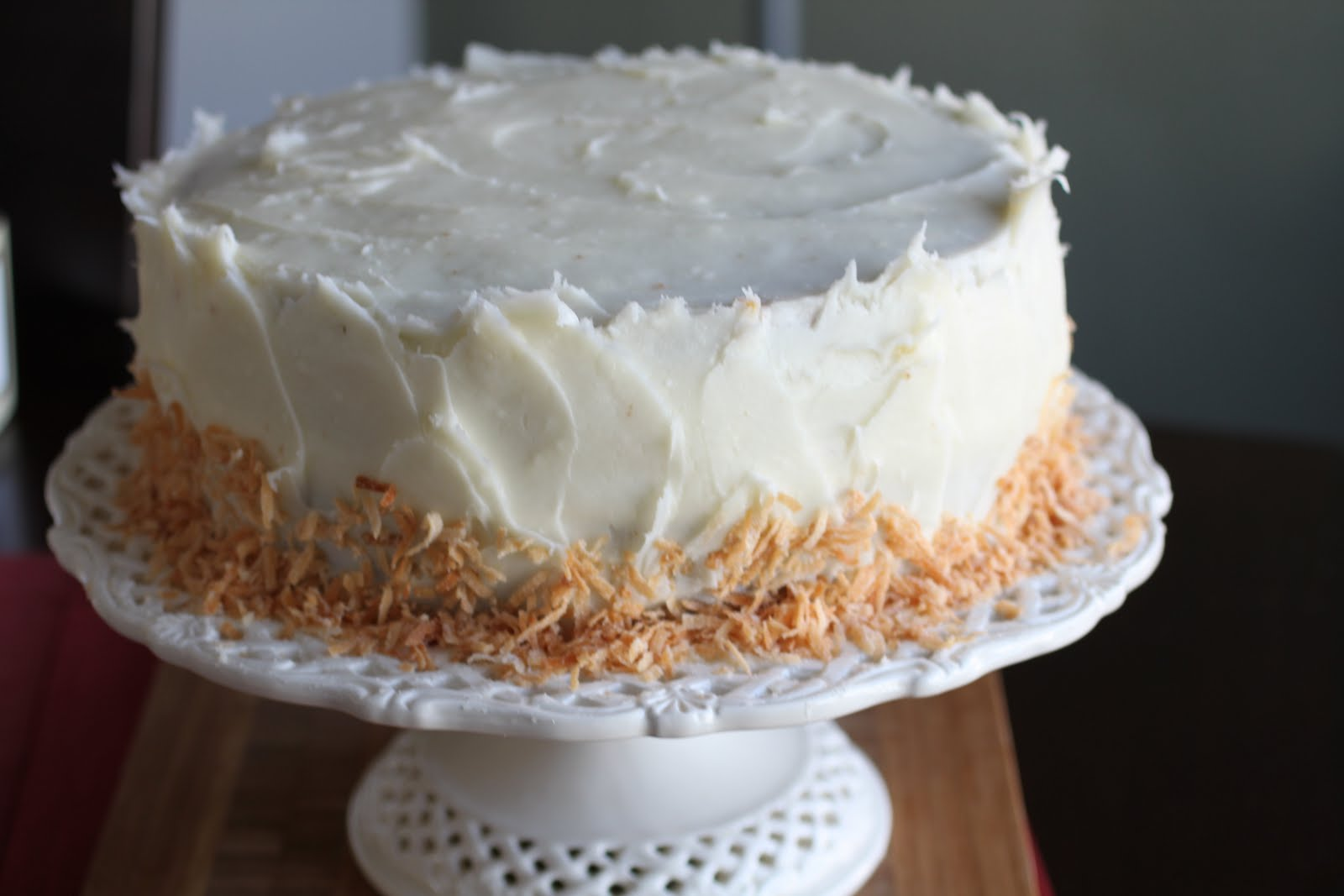 ... Food Blog: Coconut Pineapple Carrot Cake with Cream Cheese Frosting