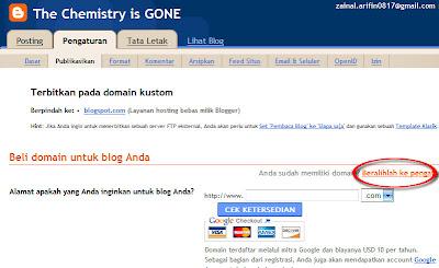 Menembak Co.cc dengan Blogspot.com