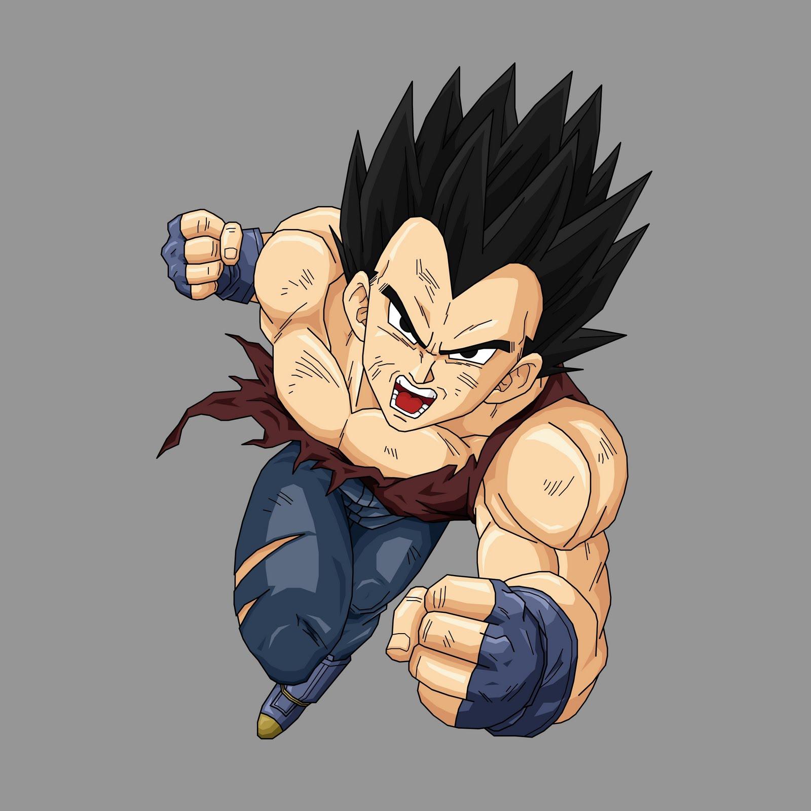 Goku y vegeta vegeta gt renders - Vegeta dragon ball gt ...