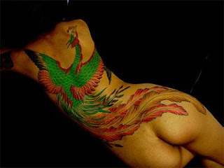 Fine Art Chinese Phoenix Tattoo