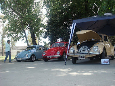 Primer Encuentro Sudamericano de Volkswagen's refrigerados por aire en Buenos Aires