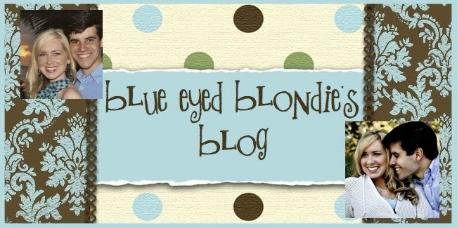 Blue Eyed Blondie's Blog