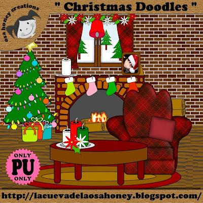 http://lacuevadelaosahoney.blogspot.com/2009/11/christmas-doodles.html
