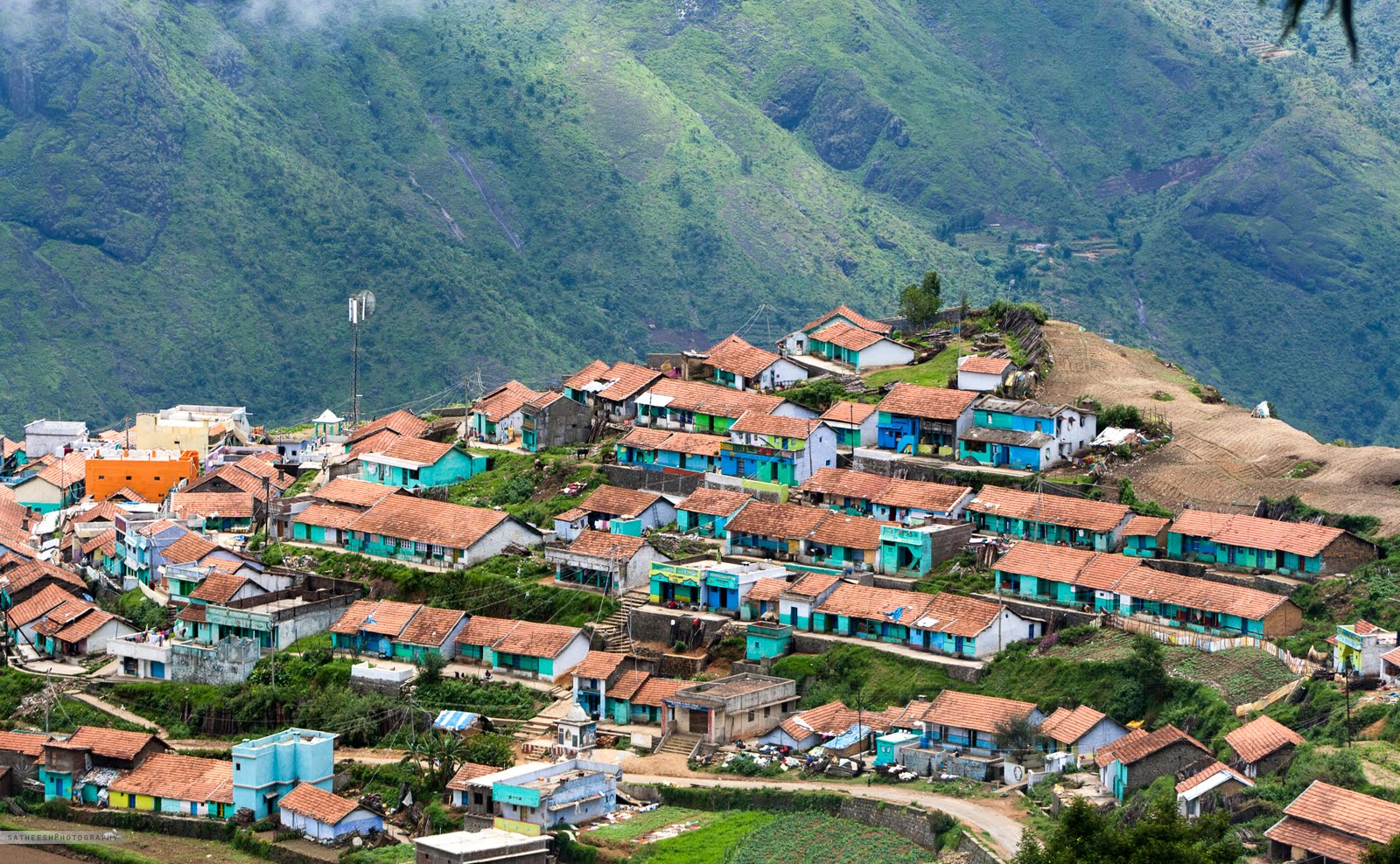 Kodaikanal India  city pictures gallery : satheesh clicks: Poombarai village, Kodaikanal, India.