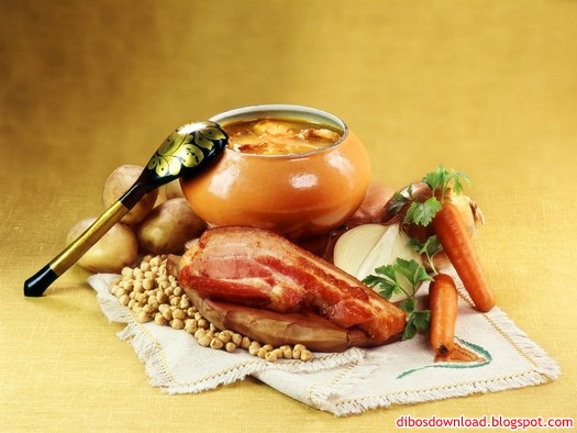 russian cuisine wallpaper 3
