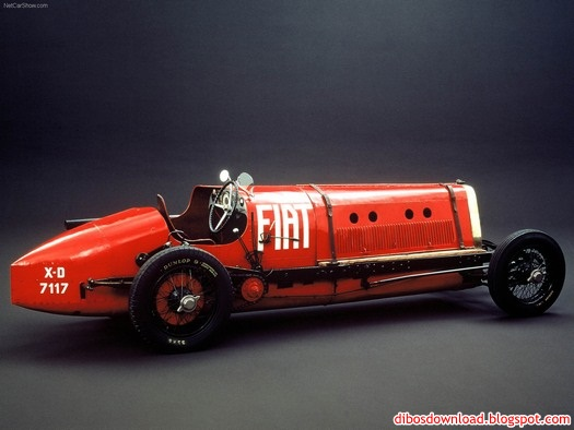 the first race cars produced by fiat