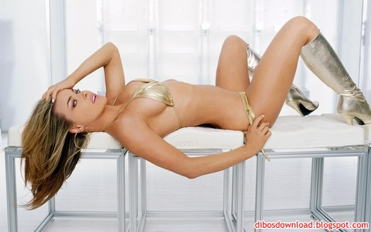 sexy girl lying on the table