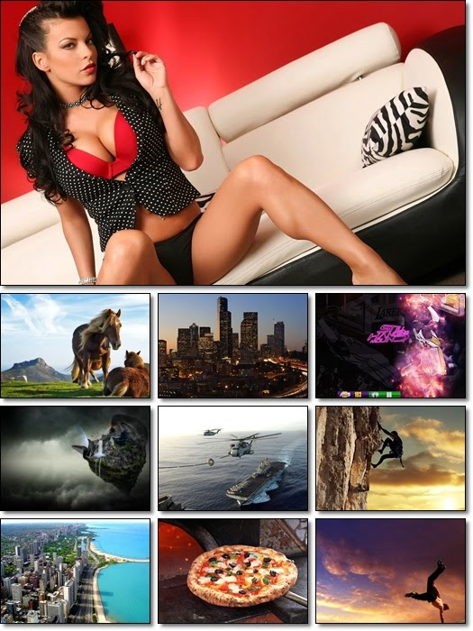 Full HD Mixed Wallpapers Pack 83 by Smpx