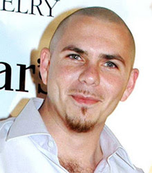 Pitbull - Gimme A Bottle (White Stripes)