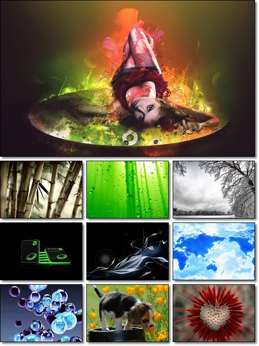 Full HD Mixed Wallpapers Pack 86 by Smpx