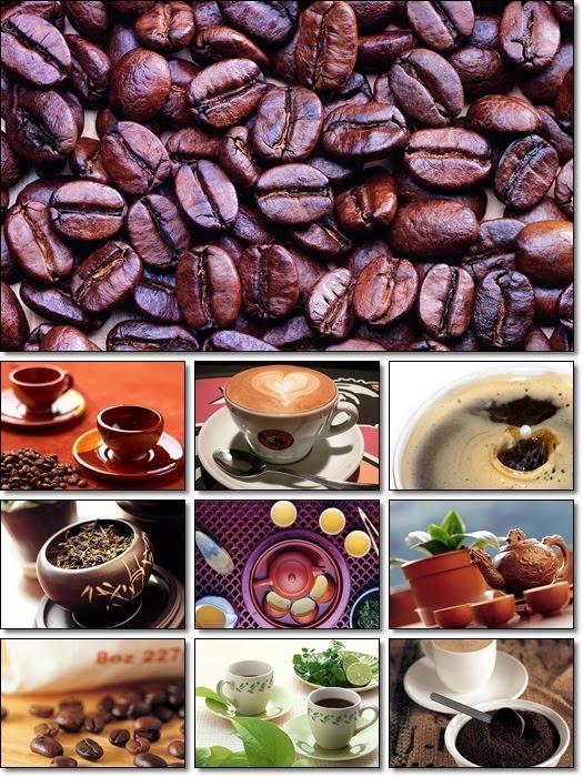 Tea, Coffee Perhaps Spirited Widescreen Wallpaper