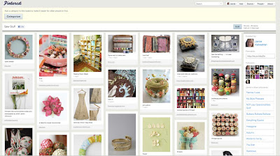 Pinterest is a social catalog service . . . a virtual pinboard.