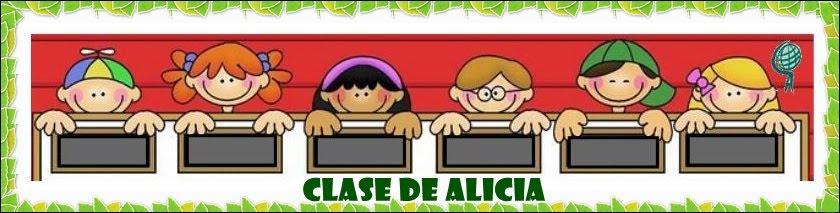 CLASE DE ALICIA 4 AÑOS